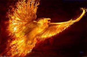 flaming-eagle